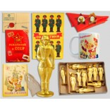 Подарочный набор «Советские оловянные солдатики»