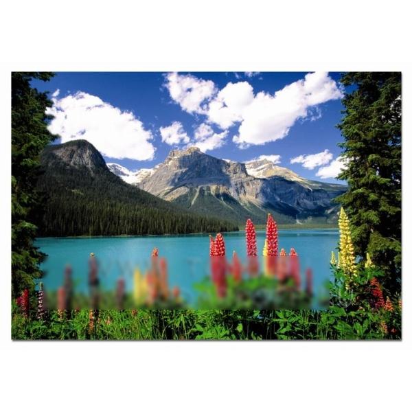 Пазл «Изумрудное озеро»