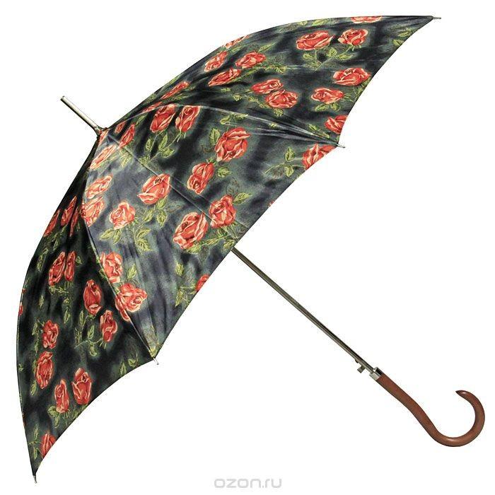 Женский зонт-трость полуавтомат Edmins