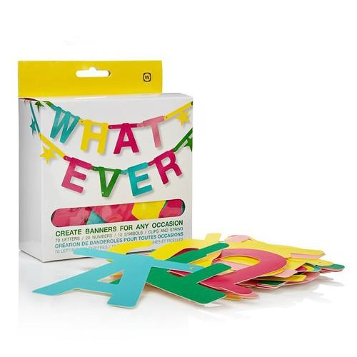 Поздравительная гирлянда Whatever Banner Kit