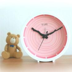 Розовый будильник U.Life