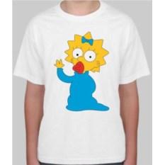 Детская футболка Симпсоны. Мэгги