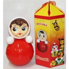 Пластмассовая игрушка-неваляшка