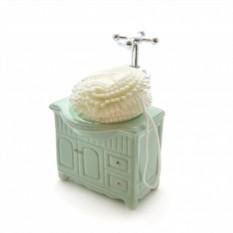 Диспенсер для мыла Тумбочка с губкой