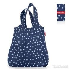 Складная сумка mini maxi shopper (цвет: spots navy)