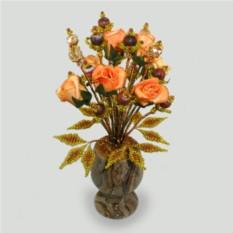Цветы из агата Подари любовь