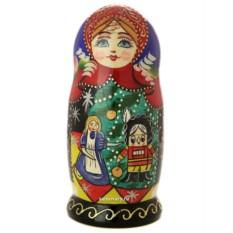 Набор русских матрешек Сказки