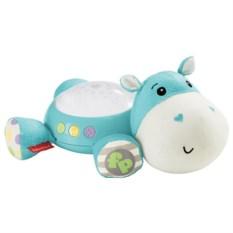 Плюшевая игрушка-проектор Fisher-Price Бегемотик