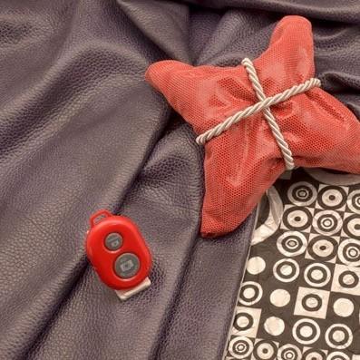 Красный пульт для селфи Селфинатор