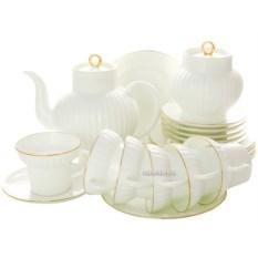 Чайный сервиз на 6 персон Золотой кантик