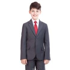 Серый школьный пиджак Gulliver