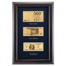 Композиция из банкнот «Капитал»