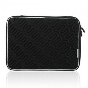 Чехол для MacBook Лого (цвет - черный)