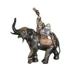Статуэтка Африканка на слоне Chaozhou Ze