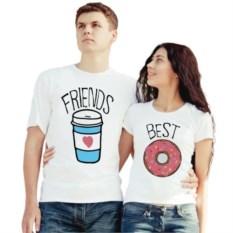 Парные футболки Friends best