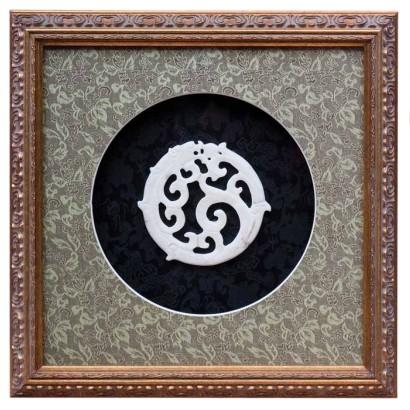 Картина Свернувшийся дракон