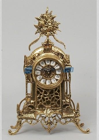 Часы из бронзы Гран Канария, цвет  золотой