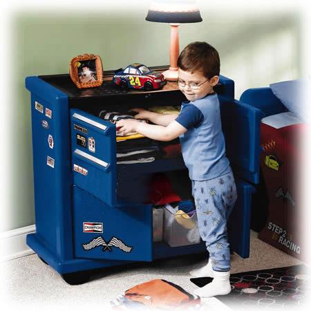 Ящик для одежды и игрушек «Маленький гонщик»