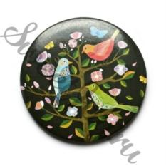 Карманное зеркало Paradise Birds