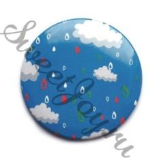 Компактное зеркало Blue Dreams