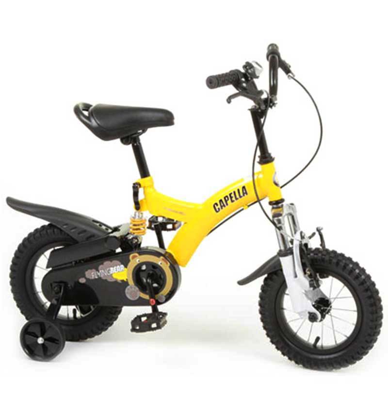 Велосипед Capella B-12, цвет: Желтый