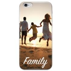 Чехол с фото и текстом для iPhone Family