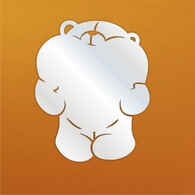 Декоративное зеркало Мишка
