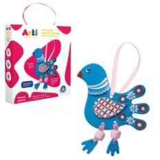 Набор для раскрашивания «Глиняная птичка Олли»