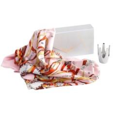 Набор «Подарок королеве»: платок и подставка для колец