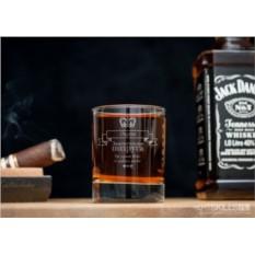 Именной стакан для виски Замечательной подруге