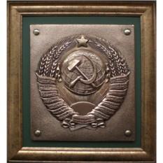 Картина из металла Герб СССР
