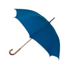Полуавтоматический зонт-трость с деревянной ручкой