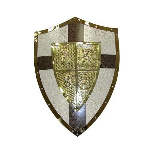Панно «Рыцарский щит с Золотыми Львами»