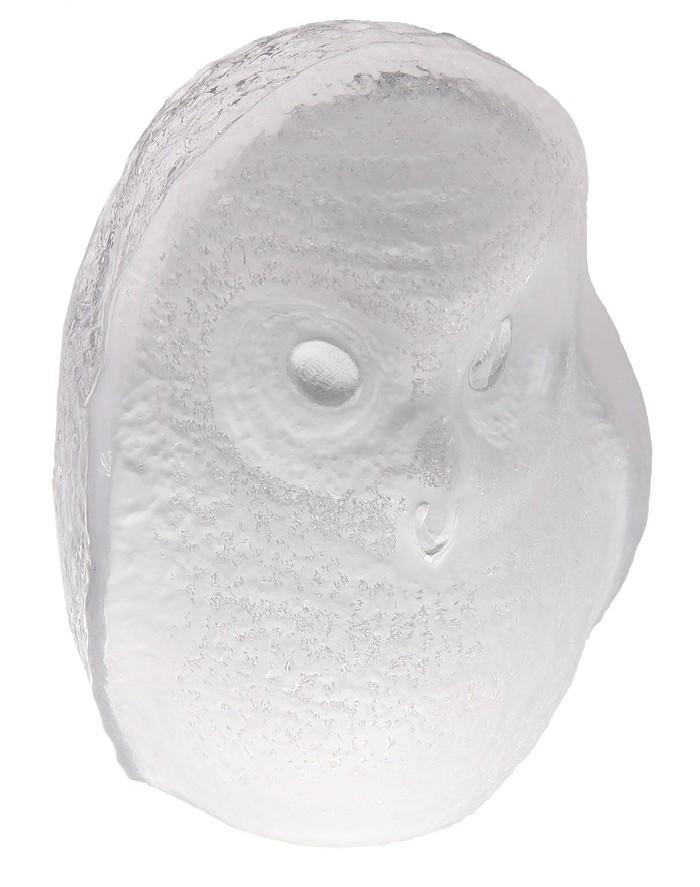 Дизайнерская статуэтка Сова, стекло