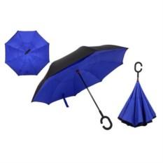 Ветрозащитный зонт Up-brella синего цвета