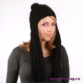 Женская шапка - ушанка