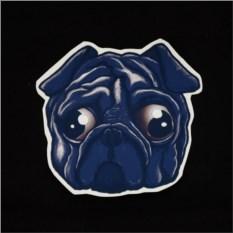 Виниловый стикер Pug