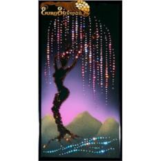 Картина Swarovski Древо влюбленных, 917 кристаллов, 20х40 см