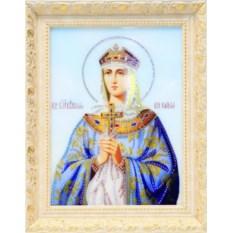 Икона с кристаллами Swarovski Святая Княгиня Ольга