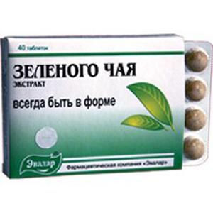 Экстракт зелёного чая