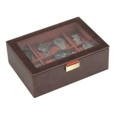 Светло-коричневая шкатулка для часов LC Designs