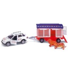 Игровой набор Машинка Welly 96120C. Цирк