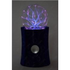 Синяя Bluetooth-колонка Плазменный шар