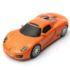 Флешка Оранжевый автомобиль Porsche