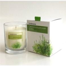 Ароматическая свеча Candlemania «Свежескошенная трава»