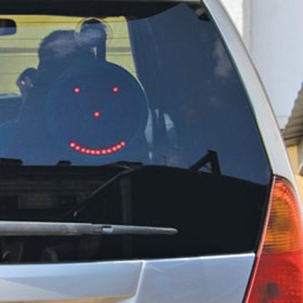 Автомобильное табло со смайлами