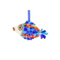 Интерьерная подвеска «Тропическая рыбка»