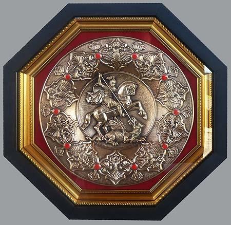 Плакетка Под защитой Георгия Победоносца