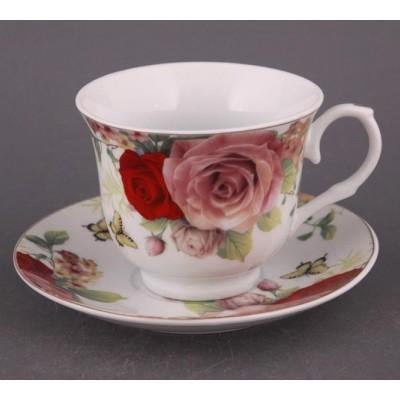 Набор чайный на 6 персон «Розы»