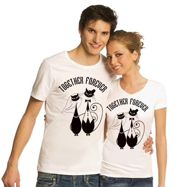 Парные футболки Together forever